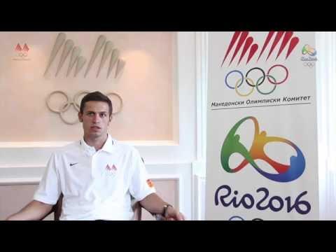 ЛОИ Рио 2016 - Ристе Пандев - Атлетика (100 м.) и Ванчо Стојанов (тренер)