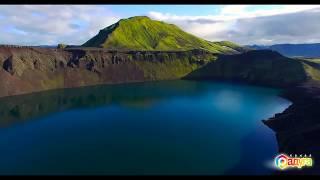 Посмотрите какая красота! Это Исландия   страна льдов  Красивые Водопады, озера, льды, горы