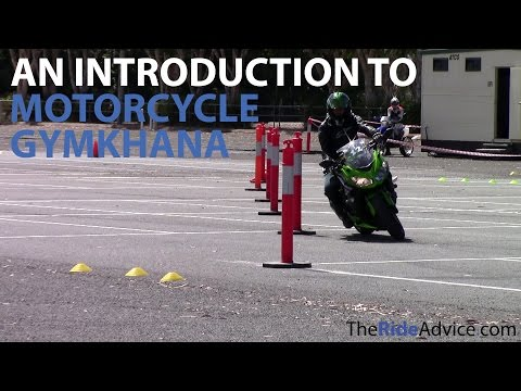 An Introduction to Motorcycle Gymkhana