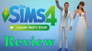 The Sims 4 Feste Di Lusso Stuff - Review - ITA