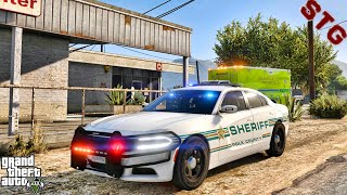 SHERIFF MONDAY| POLK COUNTY PATROL!!!| #110 (GTA 5 REAL LIFE PC POLICE MOD)