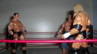 JSWF Randy Orton vs John Cena vs Triple H