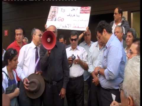 Sydney protest against the new Egyptian Constitution 8/12/12