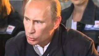 Путин заглянул на огонек к стройотряду в Сочи