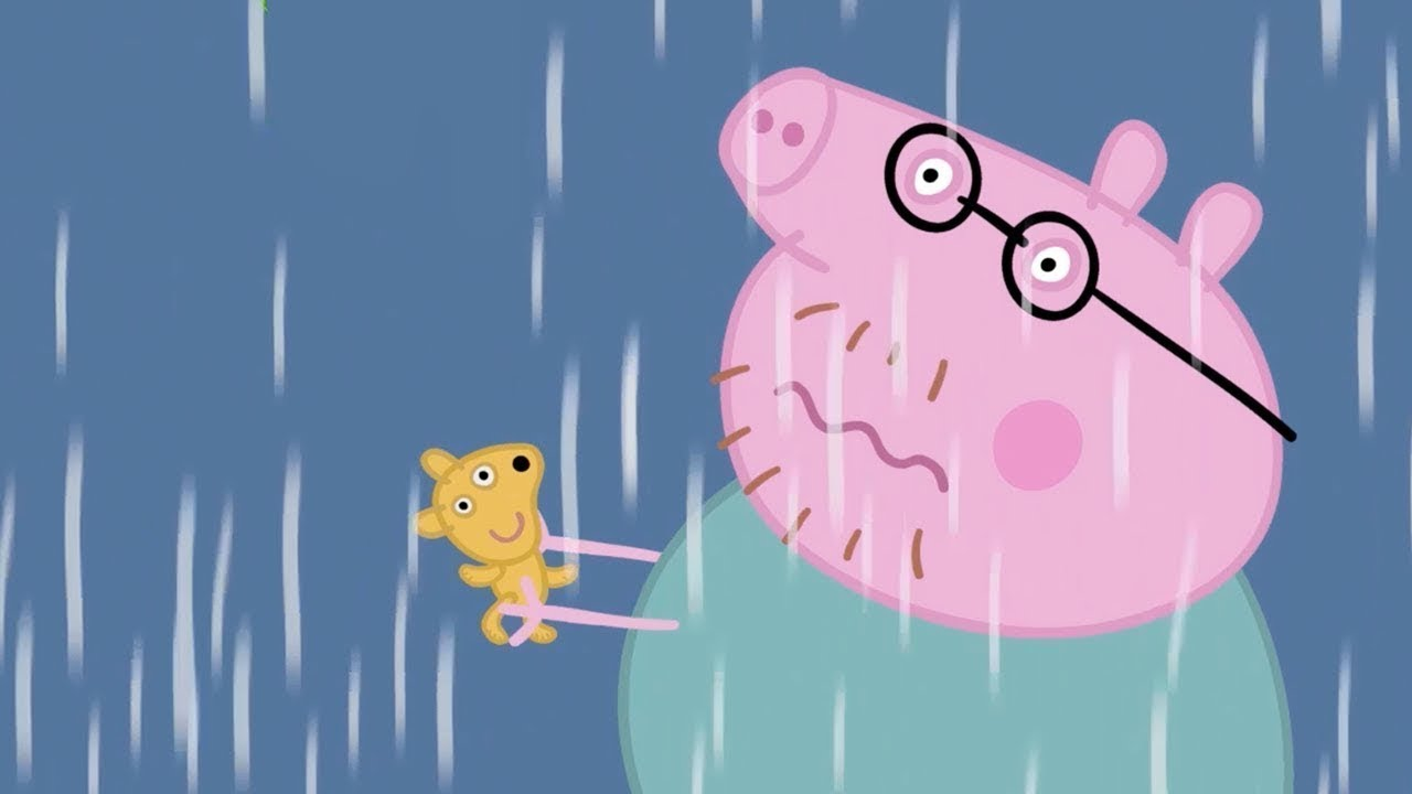 Peppa Pig in Hindi - Thunderstorm - Toofan - हिंदी Kahaniya - Hindi Cartoons for Kids