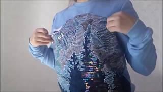 Как сшить платье из бархата с кружевом