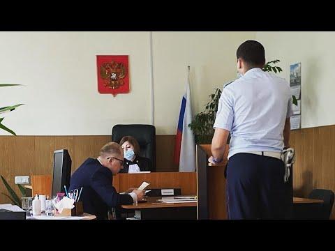 3 // Допрос инспектора ДПС Веревкина в суде // Суд удовлетворил жалобу юриста Дениса Таташвили.