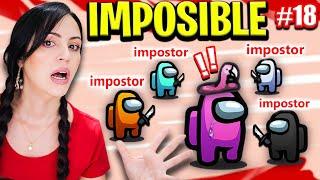 AMONG US Imposible! 😱 Votos Ocultos 🔥 La Partida Más Difícil! 🤔 Sandra Cires Play