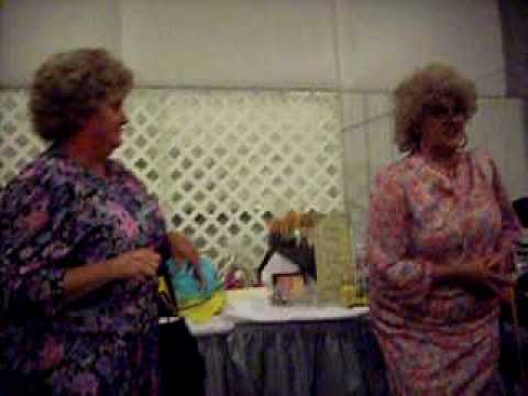 Ladie Auction Funny Bush Sisters  at Fort Payne Church of God