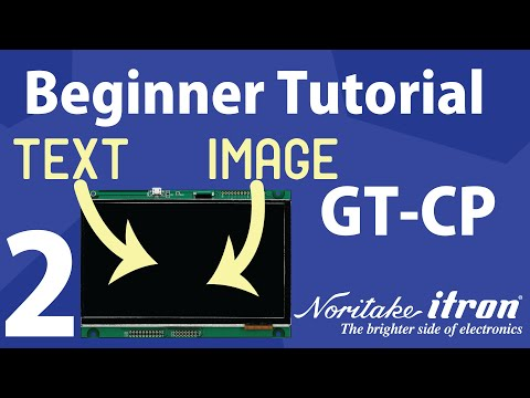 Noritake GT-CP Tutorial | Part 2: Send Text and Image with GTOP