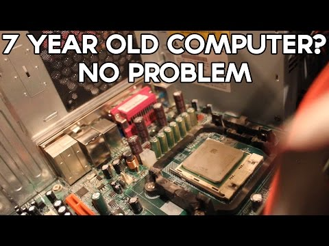 Giving a 7-year-old computer a second life