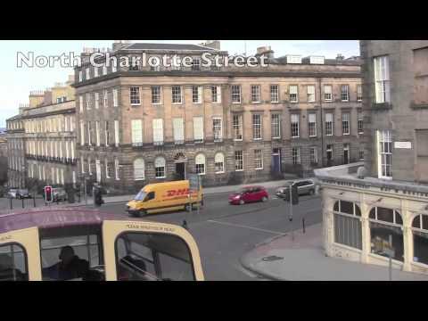 An Open Top Bus Tour of Edinburgh - 25th November, 2010