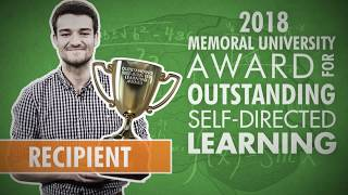 Apply for the 2019 Memorial University Award for Outstanding Self-directed Learning