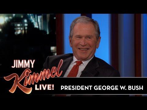 Jimmy Kimmel Asks President George W. Bush...