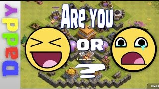 Clash Of Clans | ♡♡ LOVE ♡♡ WINS | Clash of Clans Troll Defence