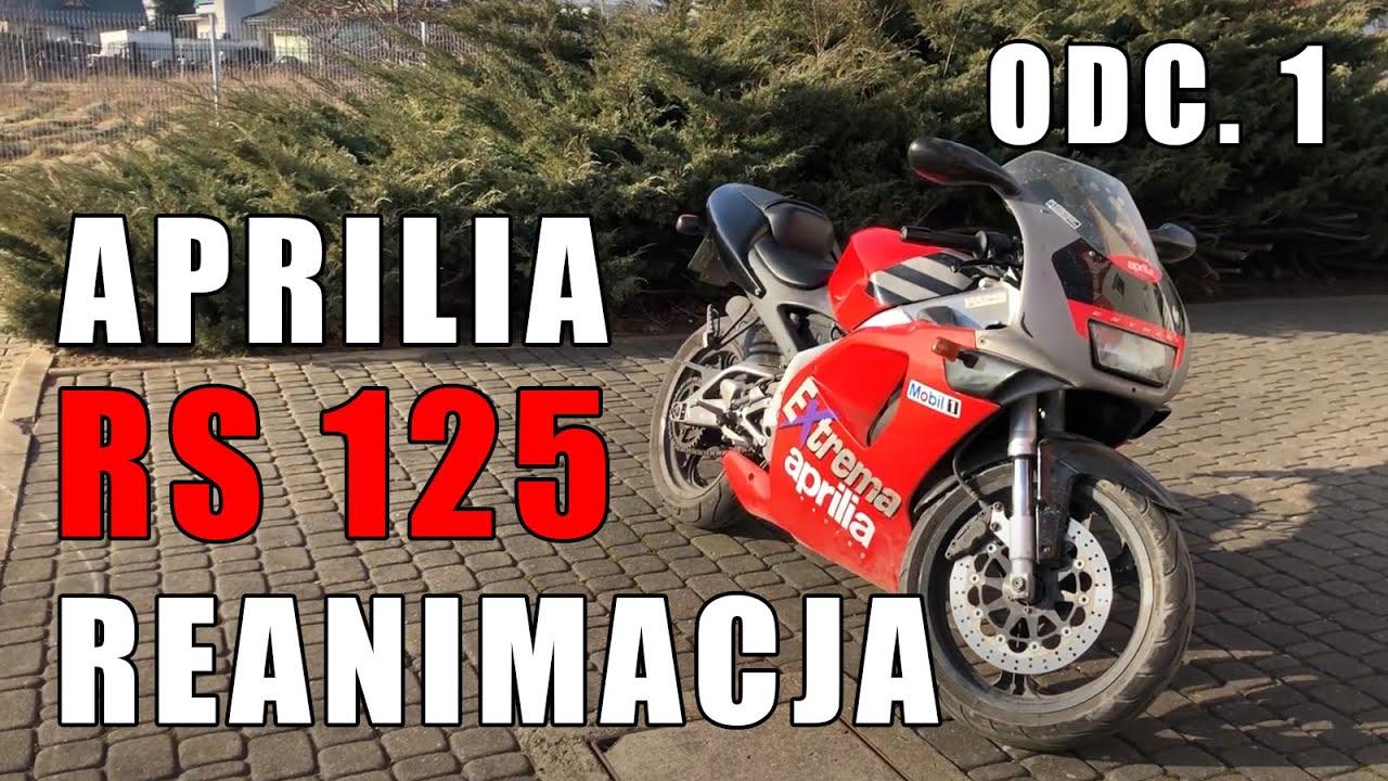 Aprilia RS 125 - Reanimujemy włoską legendę! Odc 1.