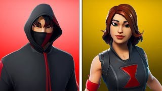 THE 10 BEST EPIC SKINS - FORTNITE BATTLE ROYALE ENGLISH