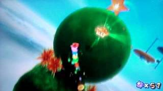 Super Mario Galaxy Walkthrough: Gusty Garden Secret Star - The Golden Chomp