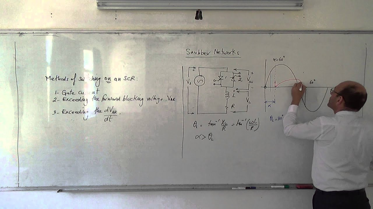 Snubber Networks Why Use A Network 26 5 2014 Youtube Circuit Triac