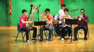Xiao Ren Wu De Xin Sheng 小人物的心聲 (Performed by Concert Band) - Chinese New Year 2013