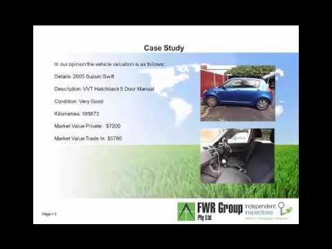 Vehicle Market Valuation Report Presentation
