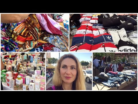 Турция 2020. ДЕШЁВЫЕ вещи на  рынке Cumartesi (Субботнем) в Анталии на Ларе.
