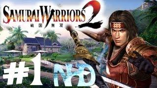 Let's Play Samurai Warriors 2 Yukimura Sanada Ch1 Retreat from Nagashino(1of2)