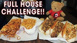 """Full House"" Sandwich Challenge w/ Pulled Pork, Chicken, & Brisket!!"