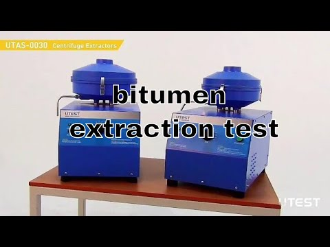 Bitumen Extraction Test Bitumen Extraction Tests Latest Viral Top Trending Machine And Apparatus Youtube