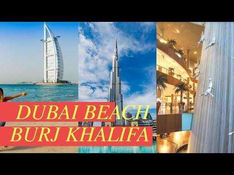DUBAI MALL || BURJ KHALIFA || DUBAI BEACH || INSIDE BURJ AL ARAB / ATTA VLOGS