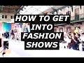 HOW TO GET INTO FASHION SHOWS | Fashion Blogger Advice, Paris Fashion Week | Gallucks