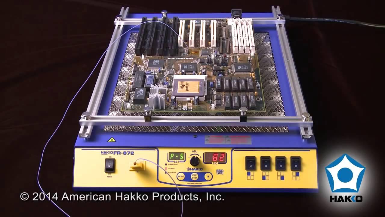 Hakko FR-870B IR PCBoard Preheater