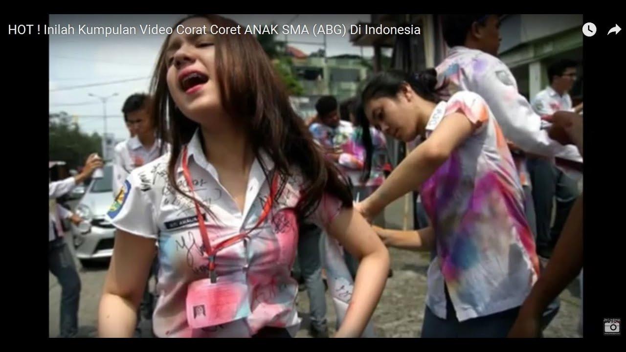 Hot Inilah Kumpulan Video Corat Coret Anak Sma Abg Di Indonesia Youtube