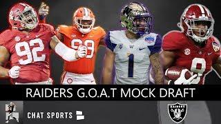 Raiders Mock Draft: Mike Mayock, Jon Gruden Address Oakland Needs & Rumors In 2019 NFL Draft