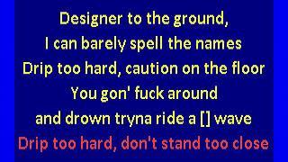 Lil Baby & Gunna - Drip Too Hard (karaoke)