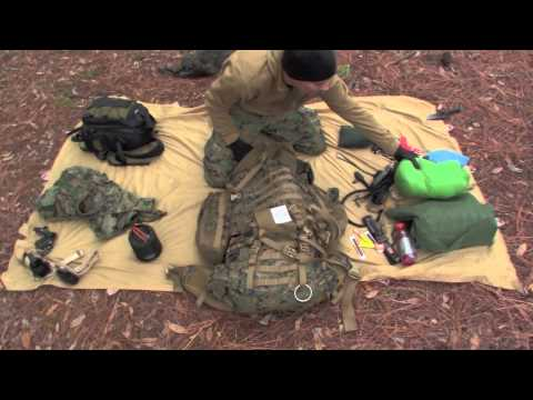 """Loaded ILBE Backpack """"Swamp Camping"""" 75lbs of Gear"""
