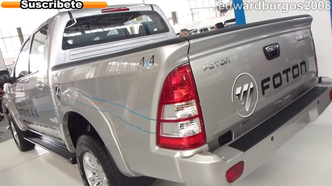 Foton tunland 4x4 2013 colombia video auto show medellin 2012 full hd youtube