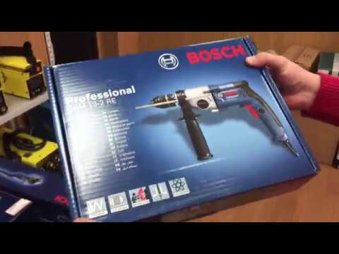 Дрель Bosch GBM 13-2 RE Professional  C 2 скоростями