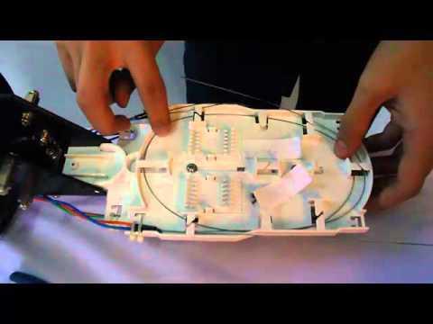 Penyambungan Fiber Optik (Setting Joint Box)