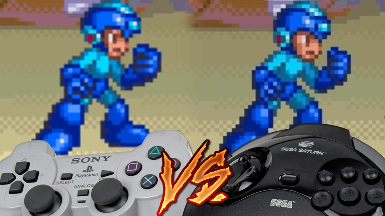 Playstation Vs Sega Saturn Mega Man 8 Youtube