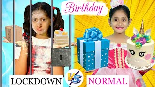 BIRTHDAY - Normal vs Lockdown | A Short Moral Story | MyMissAnand