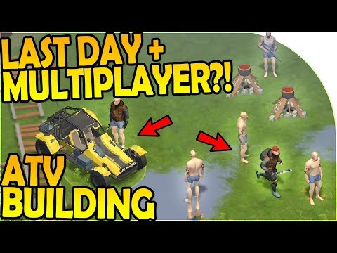 ATV BUILDING + FINISHED ATV - LAST DAY ON EARTH SURVIVAL + MULTIPLAYER?! = FREE WarZ Law of Survival