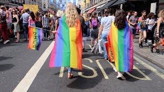 Video Pride Parade London 2017 🌈 Cinta akan selalu menang ❤️ LGBT download MP3, 3GP, MP4, WEBM, AVI, FLV September 2017