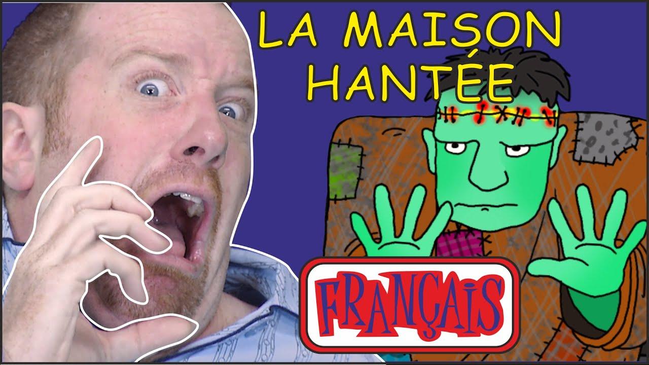 Download Maison Hantée pour les Enfants   Chansons d'Halloween   Le français avec Steve and Maggie Français