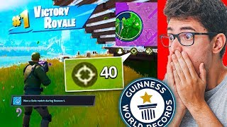 40 KILLS! RECORDE MUNDIAL NO FORTNITE CAPITULO 2!
