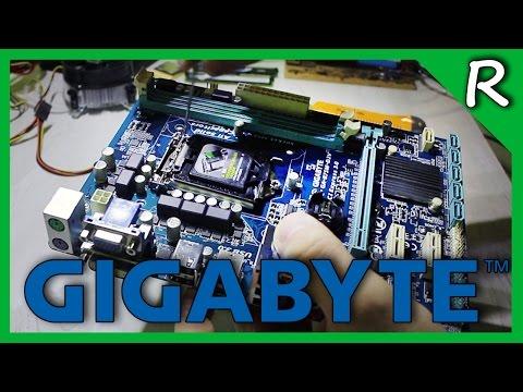 Материнская плата Gigabyte GA-B75M-D2V c ALIEXPRESS [© Игорь Шурар 2017]