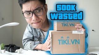 Mình đã tốn 500k như thế nào trên Tiki?