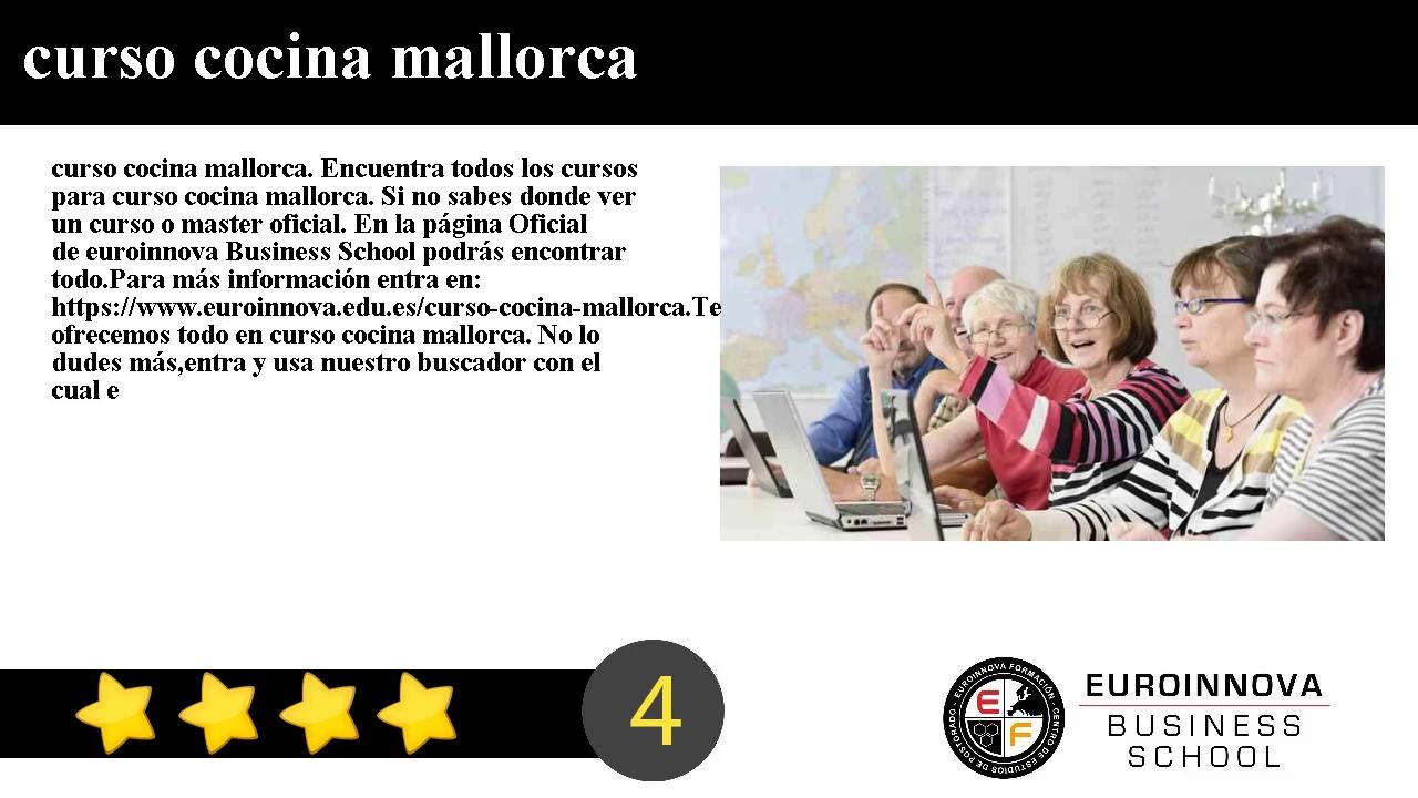 Curso Cocina Mallorca | Curso Cocina Mallorca Youtube