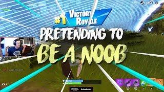 Pretending to be a Noob... ($30,000 trickshot?!)