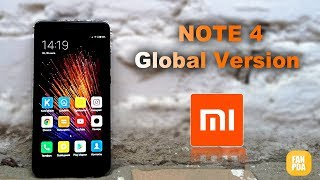 gLOBAL VERSION XIAOMI REDMI NOTE 4 ОБЗОР